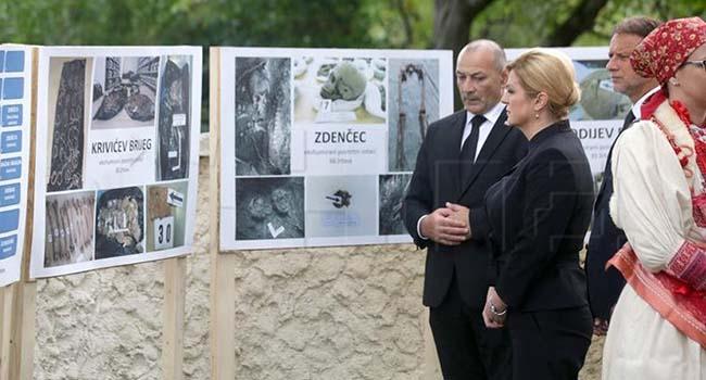 Kolinda Grabar-Kitarović osudila totalitarne režime, jednopartijsku strahovladu, te velikosrpski totalitarizam